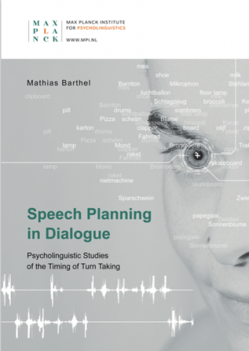 "On Thursday 23rd of January 2020, at 14.30, Mathias Barthel will defend his thesis entitled ""Speech Planning in Dialogue: Psycholinguistic Studies of the Timing of Turn Taking"" in the Aula of Radboud University. As with all defences, it is a public event and everybody is welcome to join."